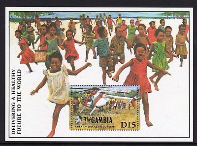 Unmounted Mint complete Issue Never Hinged 1987 60 Years Mick 100% Original Gambia Block42