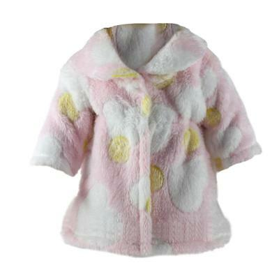 Pink Overcoat Outfit Clothes for 18 inch Our Generation American Girl Doll