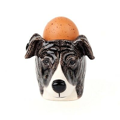 Quail Pottery  - Greyhound Face - Egg Cup