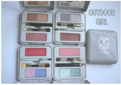 OUTDOOR GIRL palette lip gloss eyeshadow blusher eye pencil RARE DISCONTINUED