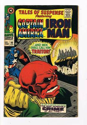 Tales of Suspense # 90  And Men Shall call him Traitor ! grade / 6.5 scarce !!