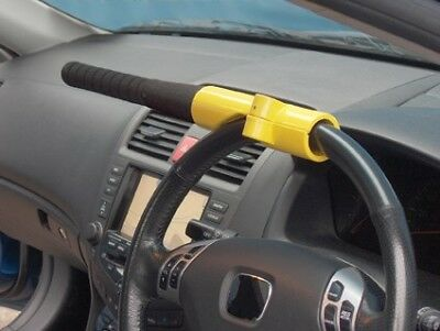 Baseball Bat Style Steering Wheel Anti Theft Security Lock