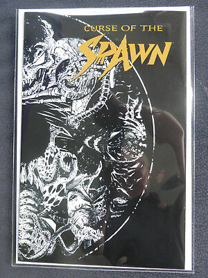 Curse of Spawn Toy Edition 1999 black & white Variant Infinity