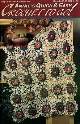 Annie/'s Crochet To Go No December//January 1999 ~ 19 crochet patterns 114
