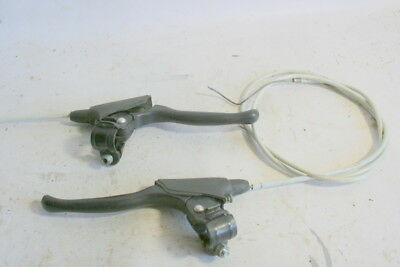 Vintage Mountain Bicycle Star Brake Levers And Cables