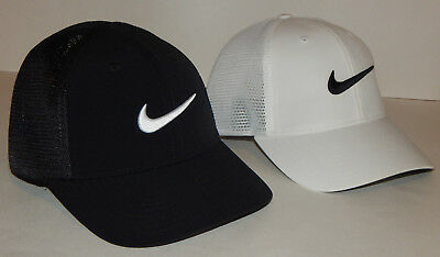 buy popular 9b36a a9320 Nike Unisex Golf Legacy 91 Tour Mesh Cap   Hat NEW Black or White S