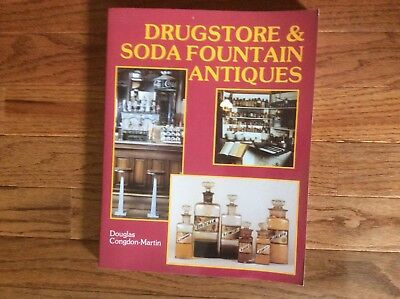 American Country Antiques, Drug Store, Soda Fountain, Food and Drink Containers