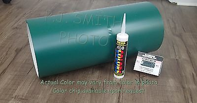 "Grecian Green #204 Aluminum Coil 24"" x 50' Package Trim Nails & Caulk included"
