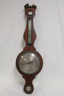 "Antique 1850 19th Century Pastorelli 180 42"" Barometer Hygrometer Holborn London"