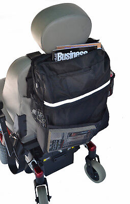 NEW Diestco Power Wheelchair Scooter Deluxe Seat back Bag B1121