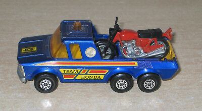 Matchbox Pick up Truck mit Honda Super kings K 6 -11  von 1974