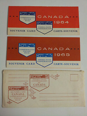 Canada Commemorative Postage Issues 1964,1965 M