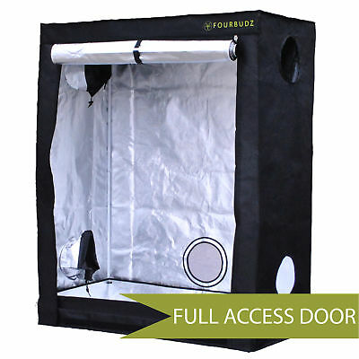 FourBudz 2'x3'x5' Hydroponic Indoor Mylar Reflective Grow Tent Room *