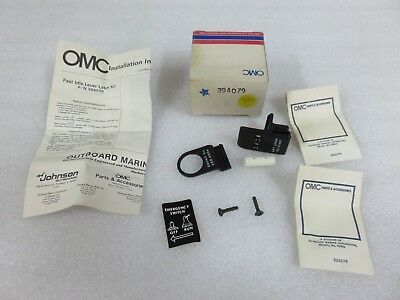 NEW Johnson//Evinrude OMC OEM Bombardier Lever and Latch Kit Ay 0396123