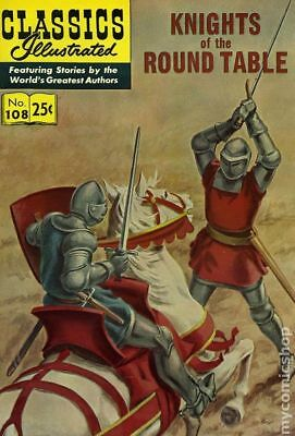 Classics Illustrated 108 Knights of the Round Table #6 1969 GD/VG 3.0 Low Grade