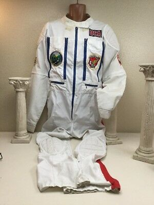 Vintage Gold Wing Riders Assn Riding Suit Coverall Red  White & Blue Chest 48""