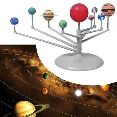 Solar System Planetarium Model Kit Astronomy Science Project DIY Kids Toy GA