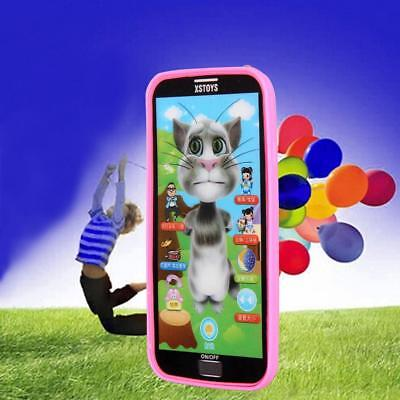 Kids Learning Study Music Mobile Phone Touch Screen Child Educational Toys GA