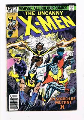X-Men # 126  In Search of Mutant X !  grade / 5.0 scarce book !!