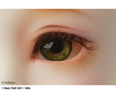 Dollmore bjd supplies 12mm - Optical Half Round Acrylic Eyes (MA-04)