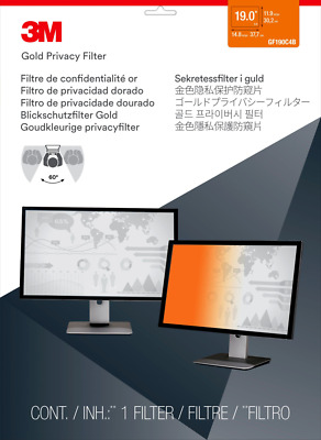 GF190C4B 3M GPF19.0 GOLD N/B PRIV FILTER - GF190C4B  (Monitors > Screen Privacy