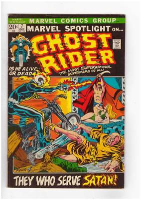 Marvel Spotlight # 7  3rd appearance of Ghost Rider grade 6.5  scarce book !