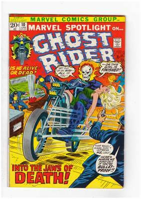 Marvel Spotlight # 10  6th app. Ghost Rider grade 7.0 scarce book !!