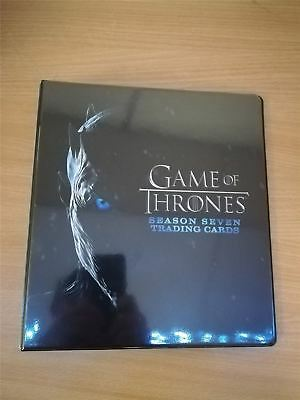 Game Of Thrones Season 7 Official Rittenhouse Archives Binder