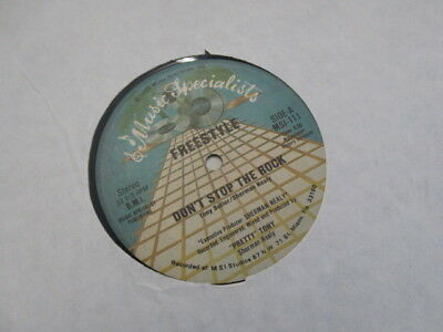 """Pretty Tomy -Feestyle / Don't Stop The Rock- 12"""" Maxi-LP"""