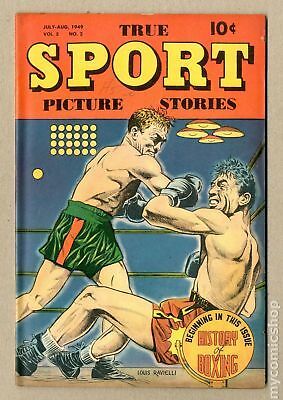 True Sport Picture Stories Vol. 5 #2 1949 VG/FN 5.0