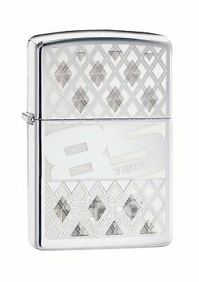 Zippo Commemorative 85th Anniversary Windproof Lighter - High Polished Chrome