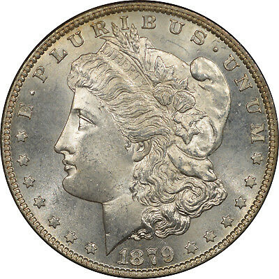 1879-S Morgan Dollar, Uncirculated Claims To Gem!
