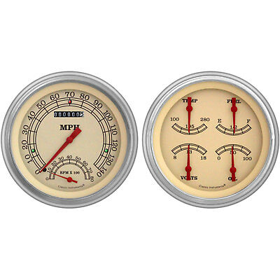 Classic Instruments CH51VT62 Vintage Series Gauge Package 1951-52 Chevy Car Incl