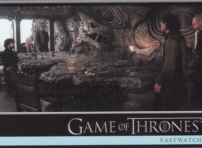 2018 Season 7 Game Of Thrones Wolkan Letter To Face Night's Army Tradng Card #14