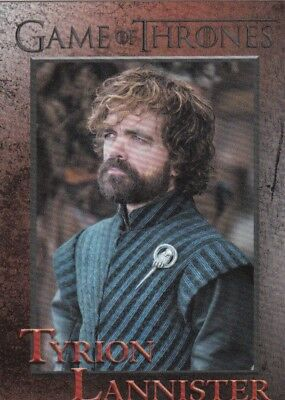 2018 Season 7 Game Of Thrones Tyrion Lannister Trading Card #22