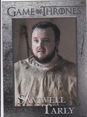 2018 Season 7 Game Of Thrones Samwell Tarly Trading Card #37