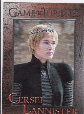 2018 Season 7 Game Of Thrones Cersei Lannister Trading Card #24