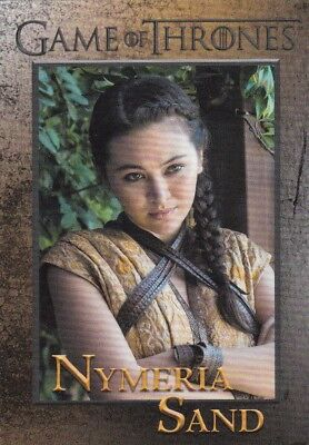 2018 Season 7 Game Of Thrones Nymeria Sand Trading Card #69