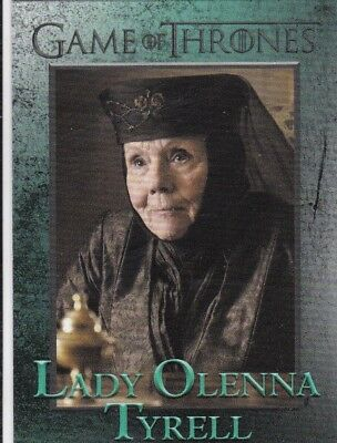 2018 Season 7 Game Of Thrones Lady Olenna Tyrell Trading Card #52