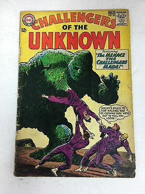 Challengers of the Unknown # 38  (G  2.0) DC COMICS SILVER AGE
