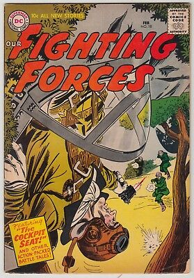 Our Fighting Forces #18, Dc Comics, Vg+ Condition