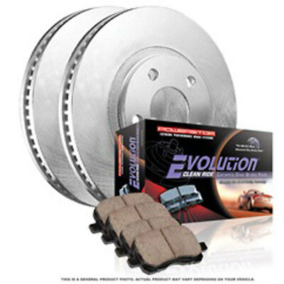 Power Stop KOE2445 Autospecialty By Power Stop 1-Click Daily Driver Brake Kits R