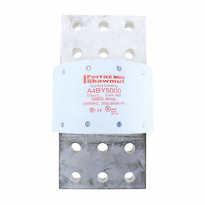 Ferraz Shawmut A4By5000 5000 Amp 600V Class L Amp-Trap Current Limiting Fuse