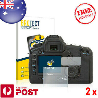 2x BROTECT® HD-Clear Screen Protector for Canon EOS 5D - P055AF