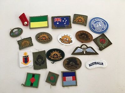Australian Army - Assorted Patches