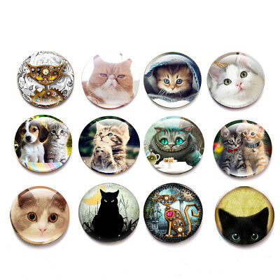 16 Style Cute cat  Fridge Magnet Novelty Fun Refrigerator Magnets Children Gift