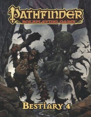 Pathfinder Roleplaying Game: Bestiary 4 Pocket Edition 9781640780309