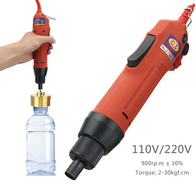 110/220V Electric Capping Machine Handle Manual Bottle Cap Capper Sealer Sealing
