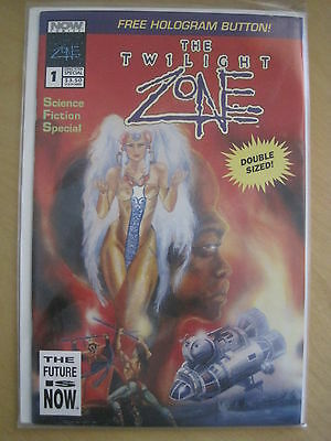 The TWILIGHT ZONE : DOUBLE SIZED SPECIAL EDITION. NOW COMICS. 1992
