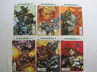 ULTIMATE AVENGERS 2 : COMPLETE 6 ISSUE SERIES by MARK MILLAR. MARVEL. 2010